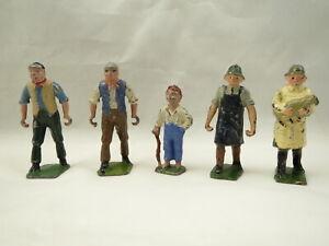 4 Britains Farmers, 1 French Farm boy