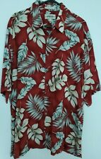 Campia Moda Shirt Extra Large . Tropical Leaf Print .