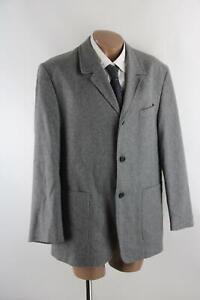 Larusso graues Tweed-Sakko Gr.54/XL Wollmischung Top Zustand