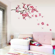 DIY Living Room Bedroom Wall Sticker Flower Blossom Wall Art Decal Decor Mural