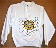 UNIVERSITY OF CALIFORNIA - DAVIS AGGIES WHITE SWEATSHIRT