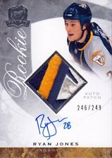 08-09 The Cup JERSEY AUTO ROOKIE xx/249 Made! Ryan JONES #116 - Predators