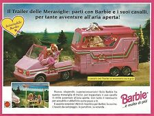 X7997 Barbie il Trailer delle Meraviglie - Mattel - Pubblicità 1994 - Advertis.