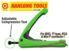 High Quality Multi-Purpose Compression Crimping Tool Crimper RG6 RG59/ BNC F RCA