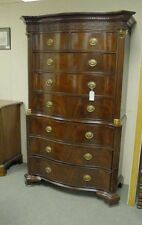 Victorian Mahogany Chest On Chest Cabinet