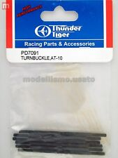 Thunder Tiger PD7091 Set Tiranteria AT10 Turnbuckle modellismo