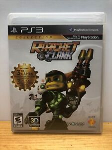 Ratchet & Clank Collection, PS3, Complete PlayStation 3