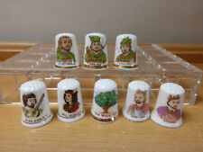 Collection Of Eight Robin Hood Characters Thimbles