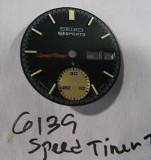 =NEW Dial/Face made for SEIKO Chronograph Speed-Timer 6139 (B)