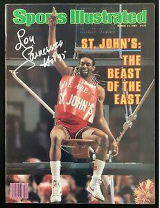 Lou Carnesecca Signed Sports Illustrated 3/21/83 St. John's No Label Auto JSA