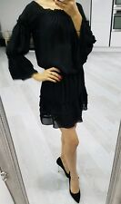ZARA black beautiful off shoulder dress size M