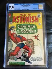TALES TO ASTONISH #53 CGC NM 9.4; OW-W; Kirby Giant-Man cover (3/64)!