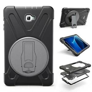 """For Samsung Galaxy Tab A 10.1"""" T580 P580 Rotating Heavy Duty Stand Case Cover"""