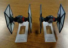 Star Wars Titanium Black Series First Order Special Forces Tie Fighter pair