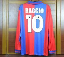 BOLOGNA HOME RETRO SHIRT 1997-98 LONG SLEEVE, ROBERTO BAGGIO, S M L XL
