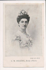 Vintage Postcard Princess Elena of Montenegro Queen of Italy