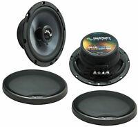 Fits Chrysler Prowler 1997-2002 Front Door Replacement Harmony HA-C65 Speakers