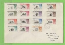 Birds British Colonies & Territories Cover Stamps