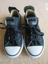 Converse All Star JOKER BATMAN Theme Hi Tops Nero UK 5 Da Uomo/UK 7 WOMAN'S RARA