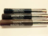 TECHNIC EYE BROW GEL Brow Shaping Definer Gel Mascara Medium,Dark Brown + Black
