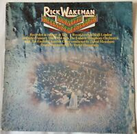 Rick Wakeman JOURNEY TO THE CENTRE OF THE EARTH LP Original Recording /1st Press