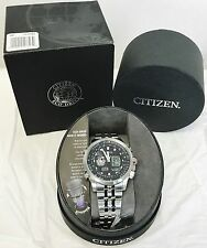 Citizen NWT Promaster Sky World Time Chronograph Pilots Watch JZ1060-76E