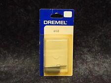 NEW DREMEL Part No. 460 2 part tool BARRELL BIT CARVE GRINDE POLISH DEBURR NOS