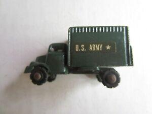 Vintage Metal 2 Inch Army Truck