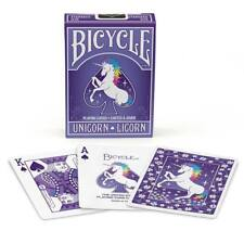 Unicorn Bicycle Playing Cards Poker Size Deck