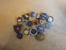 More details for 17 x vintage trade union  enamel pin & button badges some by fattorini