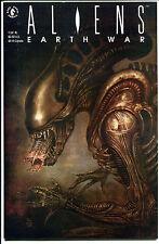ALIENS EARTH WAR #1, NM+, Sam Kieth, John Bolton, 1st, more Horror in store