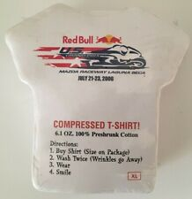 Vintage 2006 Race Compressed T Shirt XL Red Bull  Motorcycle Race Laguna Seca