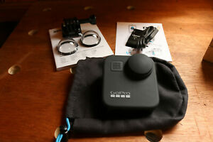 GoPro Max CHDHZ-201 360 Digital Action Camera - Black - Unused