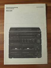 Schneider MIDI 2230 MIDI 2230 Service instrucción Service Manual