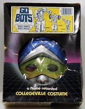 1980s Go Bots Mighty Robots COP-TUR Halloween Costume  Child LARGE Unused Gobots