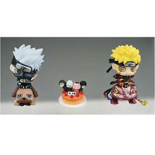 Naruto Shippuuden 2'' Naruto and Kakashi Petit Chara Land Orange Cake Set