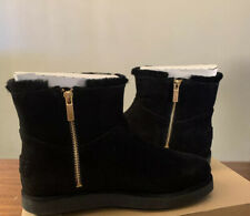 UGG CLASSIC MINI BLVD 1108143 BLACK SIZE 6, WOMAN'S BOOTS AUTHENTIC NEW