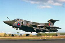 original 35mm Aircraft slide XW527  Buccaneer S2B Lossiemouth Sept 1993
