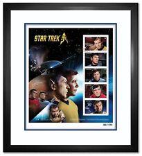 Star TrekTM 50th Anniversary – Framed Stamp Pane. #1218 of 1701.
