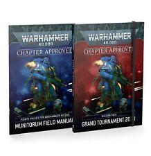 Warhammer 40000 40K Grand Tournament 2020 Mission Pack & Munitorum Field Manual