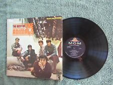 THE ANIMALS BEST OF GATEFOLD ROCK ON MGM STEREO