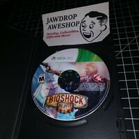 BIOSHOCK INFINITE XBOX 360 (DISC ONLY) USED, TESTED, WORKING. GAME GIFT ACTION