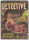 Spicy Detective Stories v14 #6 FN 6.0 VINTAGE Pulp Magazine GGA Murder Slavage