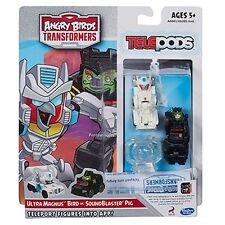 Transformers Rovio Angry Birds Telepods App Game Ultra Magnus Soundblaster