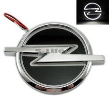 White Auto 5D LED Car Tail Logo Light Badge Emblem Lamp For Opel 13.3cm X 10.1cm