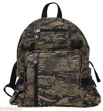backpack smokey branch canvas mini vintage style adjustable straps rothco 9720