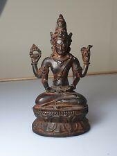 A Fine 13th Century Copper Alloy Statue Of Shiva.