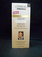 Loreal Sunless Sublime Glow Daily Moisturizer, Medium Face, 2.5 oz.