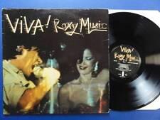 ROXY MUSIC VIVA island 76 A1B2 Lp NEX