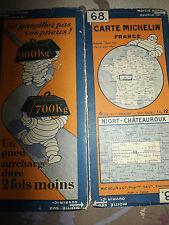 carte michelin 68 niort chateauroux 1928